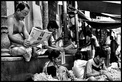 Morning News (ujjal dey) Tags: blackandwhite monochrome dreams kolkata morningnews ujjal nikon50mm nikond90 ujjaldey ujjaldeyin ujjaldeyphotography