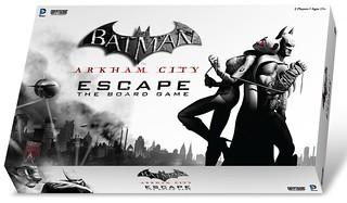 蝙蝠俠:阿卡漢系列新作『蝙蝠俠: 逃出阿卡漢』桌上遊戲