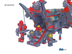Droped (THE BRICK TIME Team) Tags: brick infantry lego space landingcraft