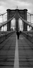 Night and Day (chrisbastian44) Tags: nyc newyorkcity bridge ny newyork film brooklyn downtown cloudy kodak manhattan dumbo burroughs financialdistrict southstreetseaport brooklynbridge empirestate bklyn gotham bigapple kodakfilm spanning famousstructure