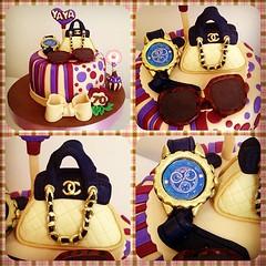 Fashion Cake!!! #sweetcakesstore #lecheria #photooftheday #instagramers #yummy #cake #cute #fashion #girl #sweet #channel #mulco #sunglasses #handbags (Sweet Cakes Store) Tags: cakes fashion cake square de cupcakes yummy y venezuela tienda cupcake squareformat reloj chanel lentes hefe torta cartera fondant tortas lecheria sweetcakes ponques iphoneography mulco instagramapp uploaded:by=instagram sweetcakesstore sweetcakesve