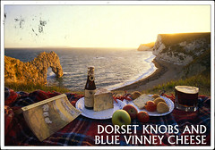 postcard - from Duplevista, Great Britain (Jassy-50) Tags: ocean cliff beach apple water beer rock fruit cheese bread book postcard ale postcrossing dorset limestone roll bier bluecheese purbeck thomashardy farfromthemaddingcrowd isleofpurbeck thomashardysale limestonecliff dorsetknobs vinneybluecheese vinneyblue