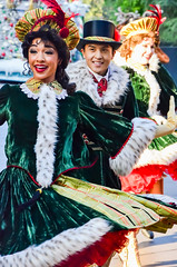 Christmas Fantasy Parade (EverythingDisney) Tags: disneyland dancer disney parade resort performer dlr acf carolers christmasfantasy achristmasfantasyparade