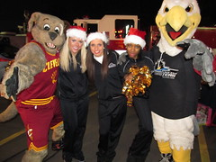 Salvation Army (39) (Moondog Mascot) Tags: food lake army drive discount wing drug monsters erie sully militant salvation 19 channel mart moondog cavaliers strongsville 12122012 cavsmoondog