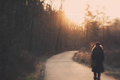 This Morning Light {Explored} (marysmyth(NOLA13) ) Tags: park morning light urban woman cold nature lensbaby path walk excercise explored thelightwasgolden imforcingmyselftousethelensbabyilovetheeffectsoidontknowwhyitisnotonmycameramore tgam:photodesk=sun2013