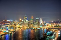 A wide angle view of Pittsburgh from the West End Overlook HDR (Dave DiCello) Tags: beautiful skyline photoshop nikon pittsburgh tripod usxtower christmastree mtwashington northshore northside bluehour nikkor hdr highdynamicrange pncpark thepoint pittsburghpirates cs4 ftpittbridge steelcity photomatix beautifulcities yinzer cityofbridges tonemapped theburgh clementebridge smithfieldstbridge pittsburgher colorefex cs5 ussteelbuilding beautifulskyline d700 thecityofbridges pittsburghphotography davedicello pittsburghcityofbridges steelscapes beautifulcitiesatnight hdrexposed picturesofpittsburgh cityofbridgesphotography