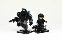 Urban Hardsuit & Operator (Mecharonn) Tags: urban lego hard suit minifigure brickarms