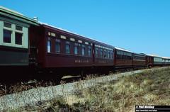 3 November 1994 Midland Railway Coaches North Walkaway (RailWA) Tags: railwa philmelling midland railway coaches north walkaway geraldton 1994 midwest