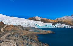 Pastoruri gletcher Peru-2 (P-B-fotografie) Tags: peru pastoruri andes ancash gletcher glacier landscape lake mountains snowtops altitude nature
