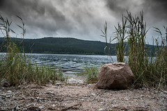 Water level (AH Photographix) Tags: schwarzwald nikon water schluchsee black forrest germany europe wasser cloudy