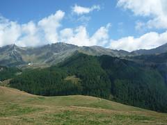 Panorama from Chamois (SoniaM (Italian teacher)) Tags: italia italy valledaosta valdaosta chamois montagna montagne mountain mountains natura nature landscape panorama view alps alpi