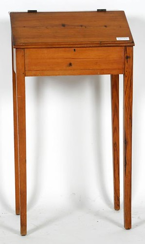 Early Pine Lift Top Desk from the Ham House ($560.00)