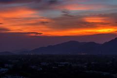Sunset in Islamabad (imrankhakwani) Tags: sunset islamabad pakistan dusk orange sky clouds dark