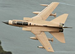 Tornado (Dafydd RJ Phillips) Tags: wales low level mach loop miltary pilot jet combat 1991 iraq desert storm operation granby royal air force raf marham panavia tornado gr4