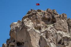 Cappadocia, Turkey (Jackson Pollard) Tags: cappadocia turkey travel natural landscape rock formations underground churches unesco fairy chimneys bronze age hot air balloons mountains snow topped