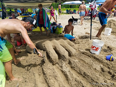Hanalei_Sand_Castle_Contest-30 (Chuck 55) Tags: hanalei bay sand castle hawaii