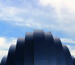 Yesterday's Dream (georgepettigrew) Tags: kansascity kauffmancenter performingarts art architecture buildings daylight day sunshine sunny blue sky white clouds artdeco