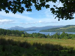 Loch Lomond, viewed from Stoneymollan Road, Balloch (luckypenguin) Tags: scotland lochlomond helensburgh balloch johnmuirway loch