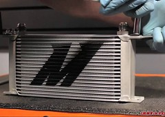 New Mishimoto Race Oil Cooler Available - Life Time Warranty (vividracing) Tags: aftermarket marketing mishimoto oil oilcooler performance race racing sales wholesale