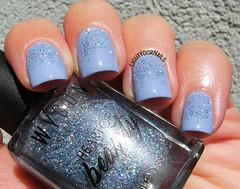 Serenity glitter gradient (Simona - www.lightyournails.com) Tags: wycon wyconcosmetics serenity pantone2016 glitters gradient blue esmalte smalto vernis unghie manicure nails nailpolish nagellack naillacquer nailart