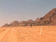 Wadi Rum (donscara) Tags: 2006 jordan wadirum travel landscape middleeast desert road mountain nature instagram photooftheday