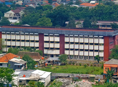 Universitas Krisnadwipayana (BxHxTxCx (more stuff, open the album)) Tags: jakarta building gedung universitas university architecture arsitektur