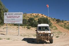 _DSC1536 (slackest2) Tags: bush outback queensland sand dirt red sky clouds bushes trees simpson dessert big