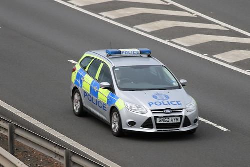 MOSS SN62 AYM FORD FOCUS TDCI POLICE SCOTLAND
