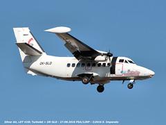Silver Air, LET 410L Turbolet > OK-SLD (PSA/LIRP) 27.08.2016 (Ernesto Imperato) Tags: silverair pisa galilei let 410l oksld turbolet elba psa lirp canon eos 7d