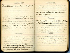 Diary of Robert Wallace p.43 (Community Archives of Belleville & Hastings County) Tags: 1880s 1890s 1900s 1910s 1920s diaries homechildren