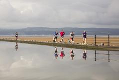 Wirral Triathlon (David Chennell - DavidC.Photography) Tags: running runners triathlon reflection wirral wirraltriathlon westkirby marinelake