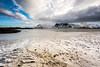 "Lofoten2016-2 (Federico ""Jäger"" Serafini) Tags: norvegia lofoten ghiaccio rocce rocks norway aurora boreale northern light clouds nuvole sea spiaggia long exposure"