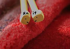 "Knit, Letter ""K"" for Karen~ Macro Mondays (Karen McQuilkin) Tags: knit k runnerup knitting yarn wool hats macromondays karen karenmcquilkin"
