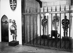 26; Suits of Armour on display (Wellington City Council) Tags: wellington historicwellington 1800s 1900s 1950s
