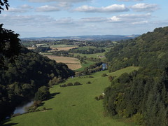 Wye Valley near Symonds Yat, Gloucestershire, 22 September 2016 (AndrewDixon2812) Tags: symonds yat river wye valley herefordshire gloucestershire coppet coppett hill goodrich