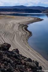 IMGP3001 (Matt_Burt) Tags: blue beach water cycling sand ride low reservoir shore mesa