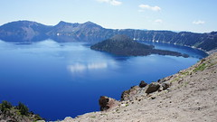 "Stunning scenery at Crater lake • <a style=""font-size:0.8em;"" href=""http://www.flickr.com/photos/87636534@N08/8156870100/"" target=""_blank"">View on Flickr</a>"