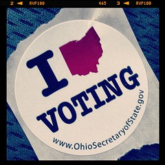 Sending this one out to @flyingjenny and @apacheman #ohio #vote #vote2012