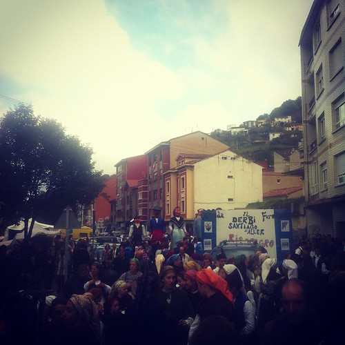Fiesta típica asturiana, ye San Martín de Moreda.