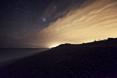 Weybourne Beach - Norfolk (Nick Caro - Photography) Tags: longexposure cloud beach night stars star coast skies space norfolk trails nighttime le caro weybourne northnorfolk nickcaro wwwnickcarophotographycouk