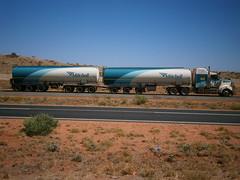 Mitchell Tanker. (RAYFOOT) Tags: truck australia mitchell roadtrain kenworth t904