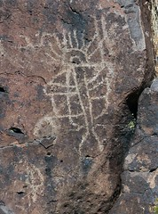 Petroglyph / Little Petroglyph Canyon (Ron Wolf) Tags: california nativeamerican petroglyph archeology chinalake anthropology rockart anthropomorph entoptic anthromorph cosoculture