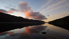 Sunrise over Loch Long (itscosmicjim) Tags: sky water clouds landscape dawn scotland loch lochlong jimbell pentaxk5