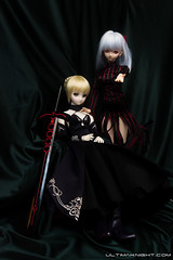 Dark Sakura x Saber Alter (Ultimaknight.com) Tags: dd volks typemoon fatestaynight dollfiedream outdoorphotography dollmeet fatehollowataraxia sakuramatou saberalter arturiapendragon dollfiedreams ddsaberalter dollfiedreamsakuramatou darksakura dollfiedreamsaberalter