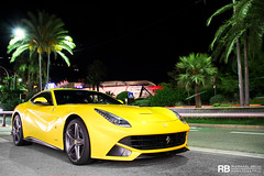 F12 (Raphal Belly Photography) Tags: paris car yellow jaune de french photography eos hotel riviera photographie ferrari casino montecarlo monaco mc belly exotic giallo 7d passion modena raphael rb supercar spotting supercars f12 v12 raphal berlinetta 740 principality tristato