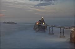 BIARRITZ - Rocher de la vierge - 2.2.1204 (bercast) Tags: 2012 biarritz biarritzessaisposelongue2012 essais longue pose bc