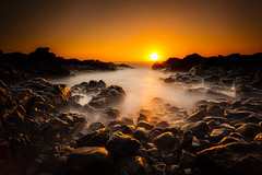 First rays at Hastings Point (exito2099) Tags: ocean longexposure seascape beach water dawn landscapes rocks australia pacificocean tasmansea saltwater 2012 rockpool 1740l ndfilters northernrivers hastingspoint tweedcoast northcoastnsw landscapessunrise cloudsstormssunsetssunrises