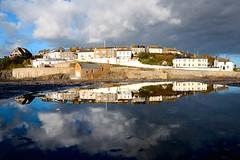 NOV_1218 (6) (Roy Curtis, Cornwall) Tags: uk sea england reflection port reflections cornwall harbour porthleven roycurtisreflections roycurtispuddles