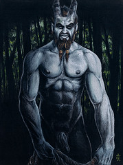 Pan, God of Groves (superboy783) Tags: nude greek god witch pan occult witchcraft forests groves pagan fauno faunus