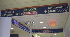 Interior Wayfinding Directional Signs